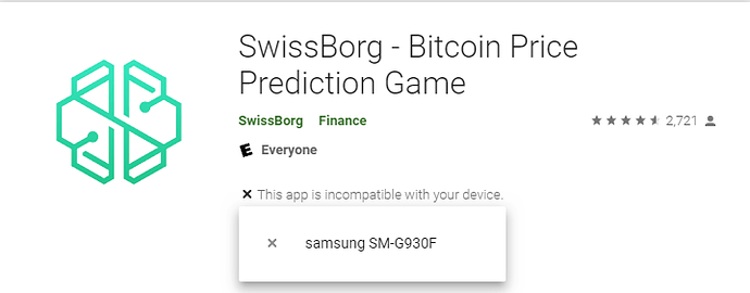 SwissBorgError