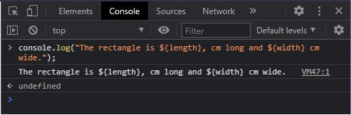 solution exc8 console.log_and_variables